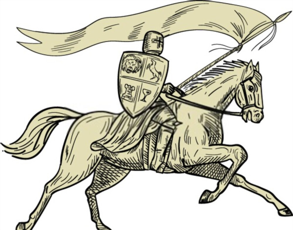 How To Draw A Knight: Step-By-Step Tutorial