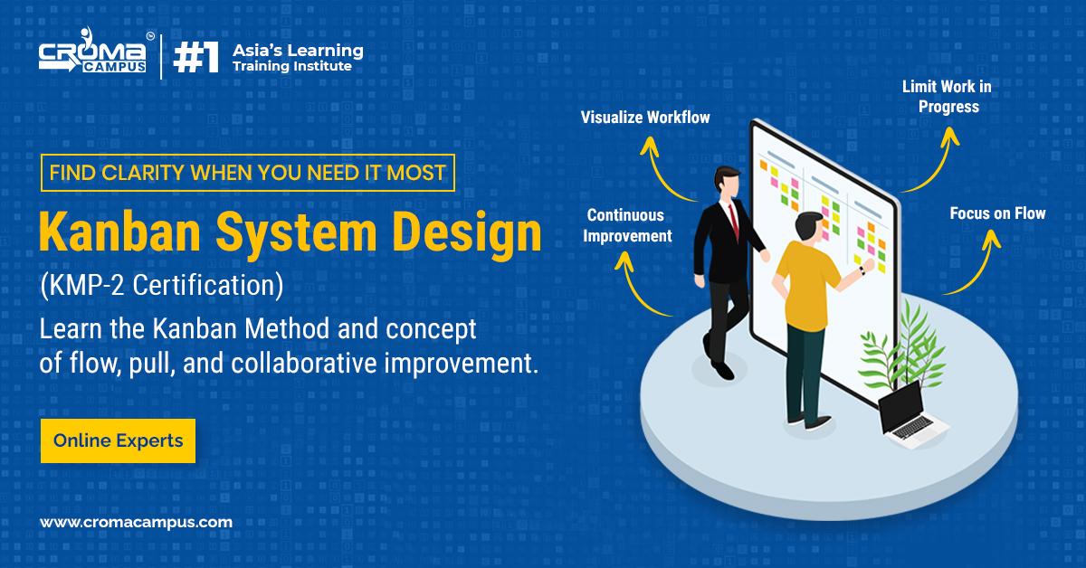 Where I will get the Kanban System Design KMP-2 Online Certification?