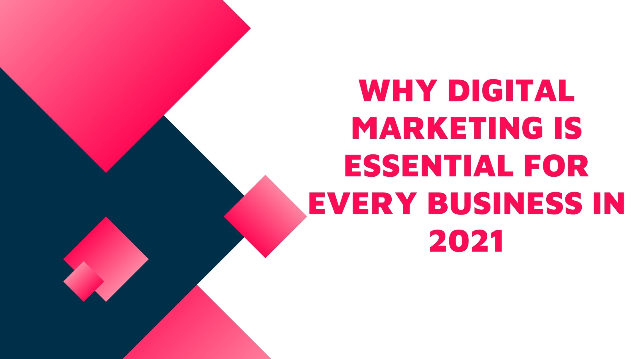 Why Digital Marketing is Essential for Every Business in 2021