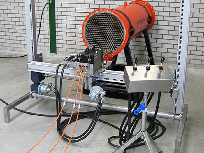 pneumatic tube cleaners