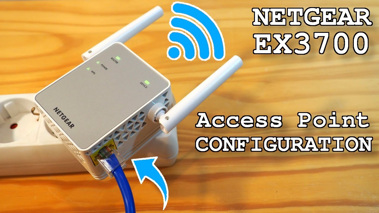 An All-inclusive Guide to Perform Netgear EX3700 Setup