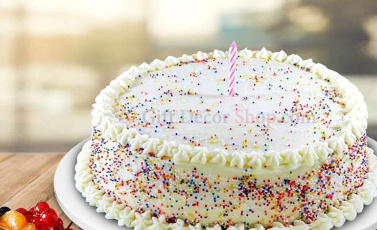 How will you buy the cake sprinkles online?